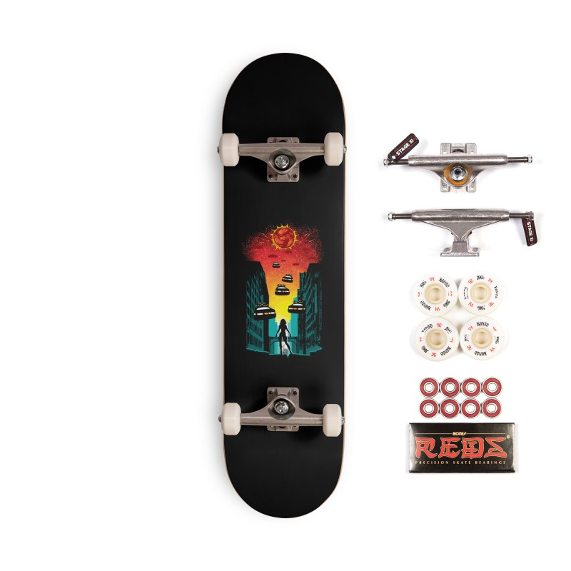 Space Fugitive Accessories Complete - Pro Skateboard by Daletheskater