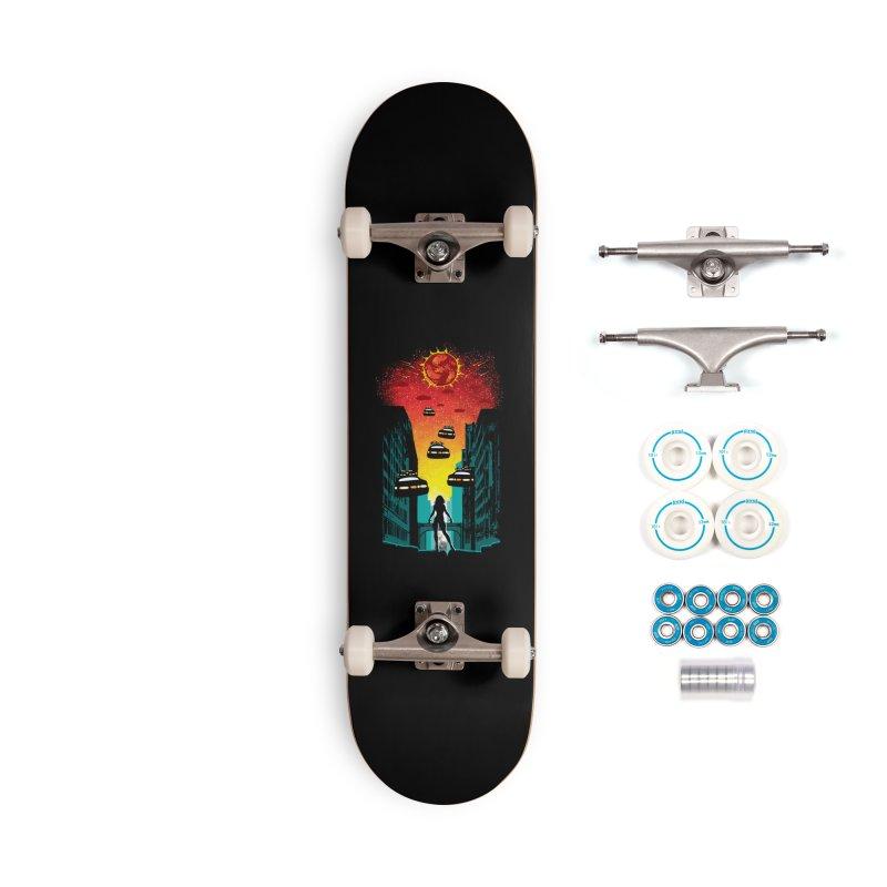 Space Fugitive Accessories Complete - Basic Skateboard by Daletheskater