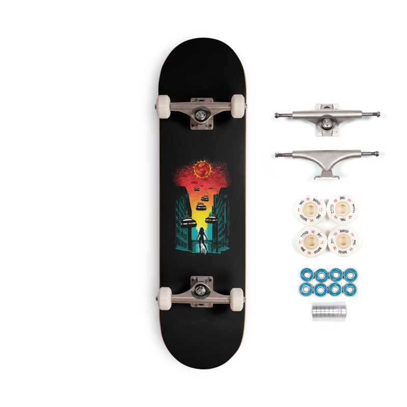 Space Fugitive Accessories Complete - Premium Skateboard by Daletheskater