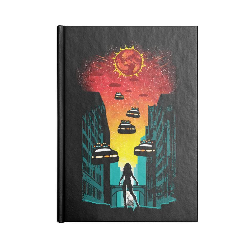 Space Fugitive Accessories Notebook by Daletheskater