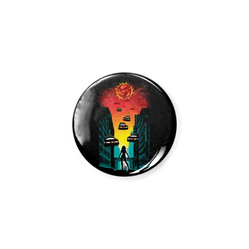 Space Fugitive Accessories Button by Daletheskater