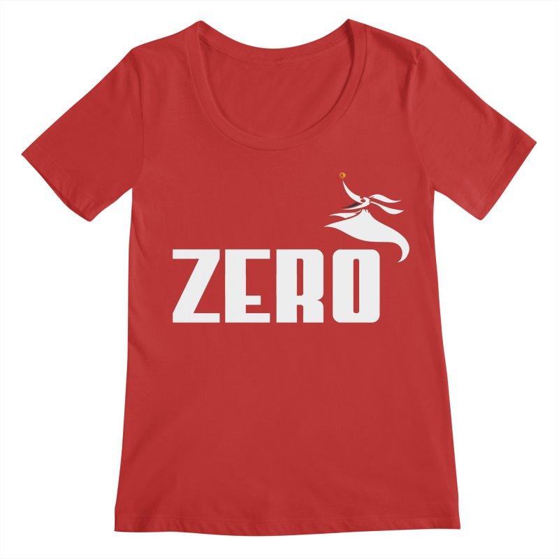 Zero Women's Regular Scoop Neck by Daletheskater