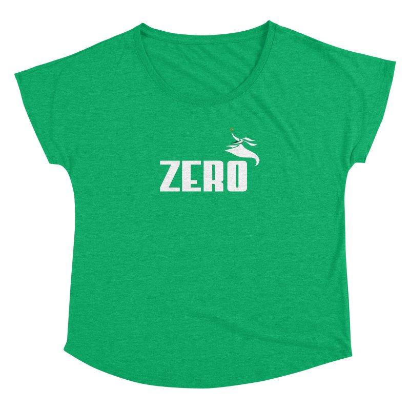 Zero Women's Dolman Scoop Neck by Daletheskater