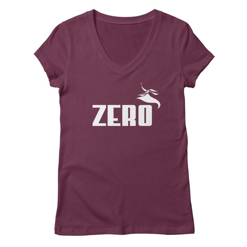 Zero Women's Regular V-Neck by Daletheskater