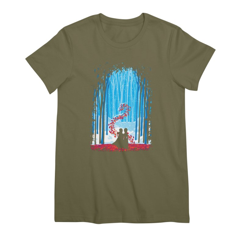 Forest Of Shadows Women's Premium T-Shirt by Daletheskater