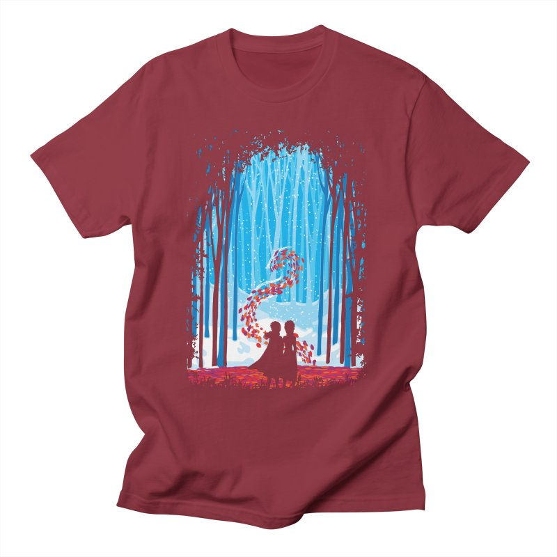 Forest Of Shadows Men's T-Shirt by Daletheskater