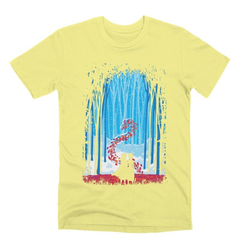 Forest Of Shadows Men's Premium T-Shirt by Daletheskater