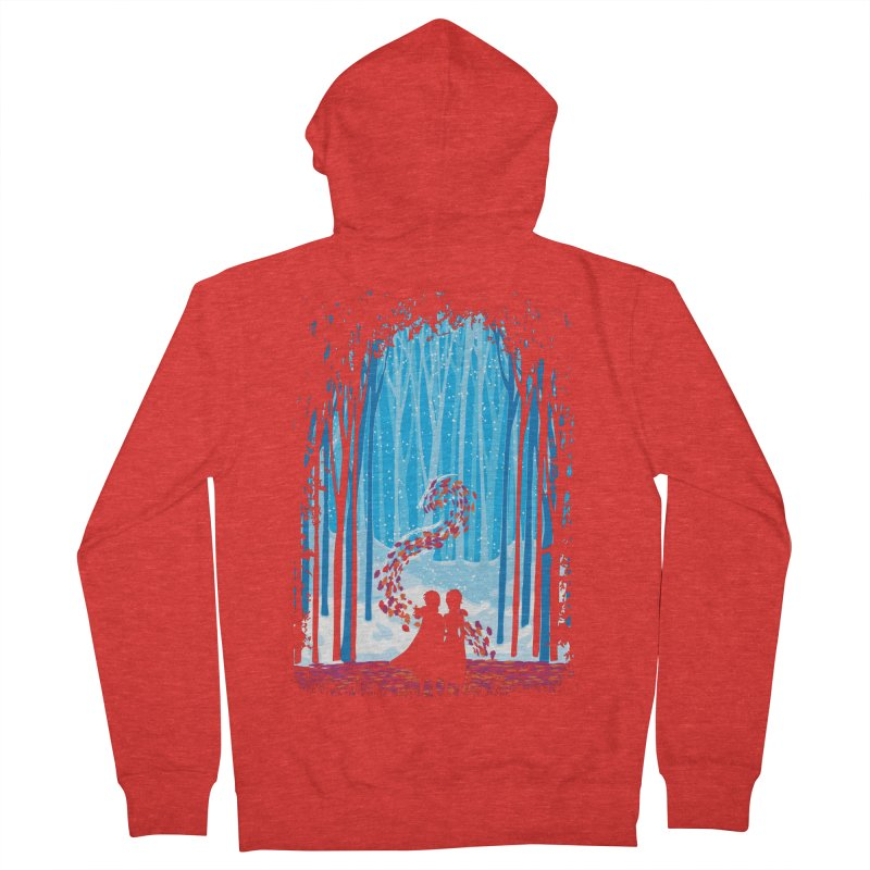 Forest Of Shadows Women's Zip-Up Hoody by Daletheskater