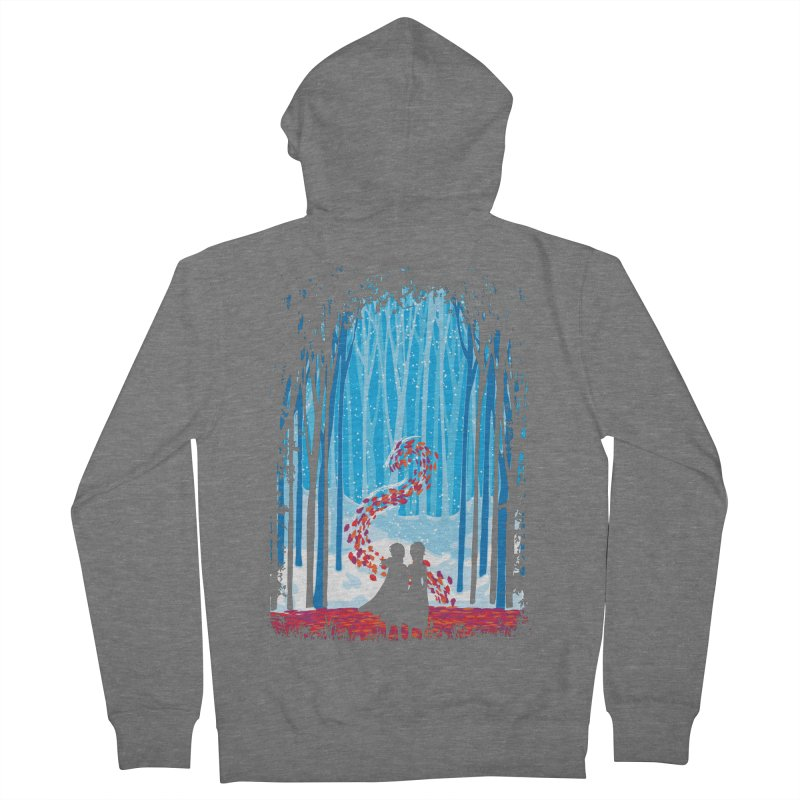 Forest Of Shadows Men's Zip-Up Hoody by Daletheskater