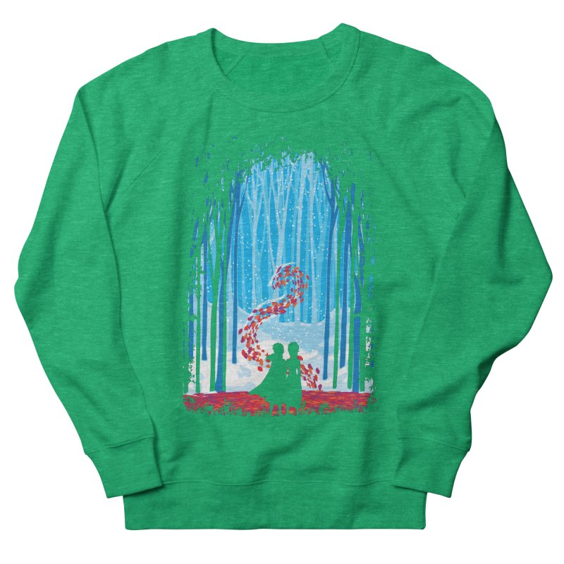 Forest Of Shadows Women's Sweatshirt by Daletheskater