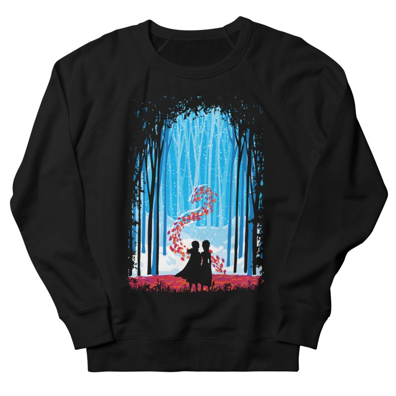 Forest Of Shadows Men's French Terry Sweatshirt by Daletheskater