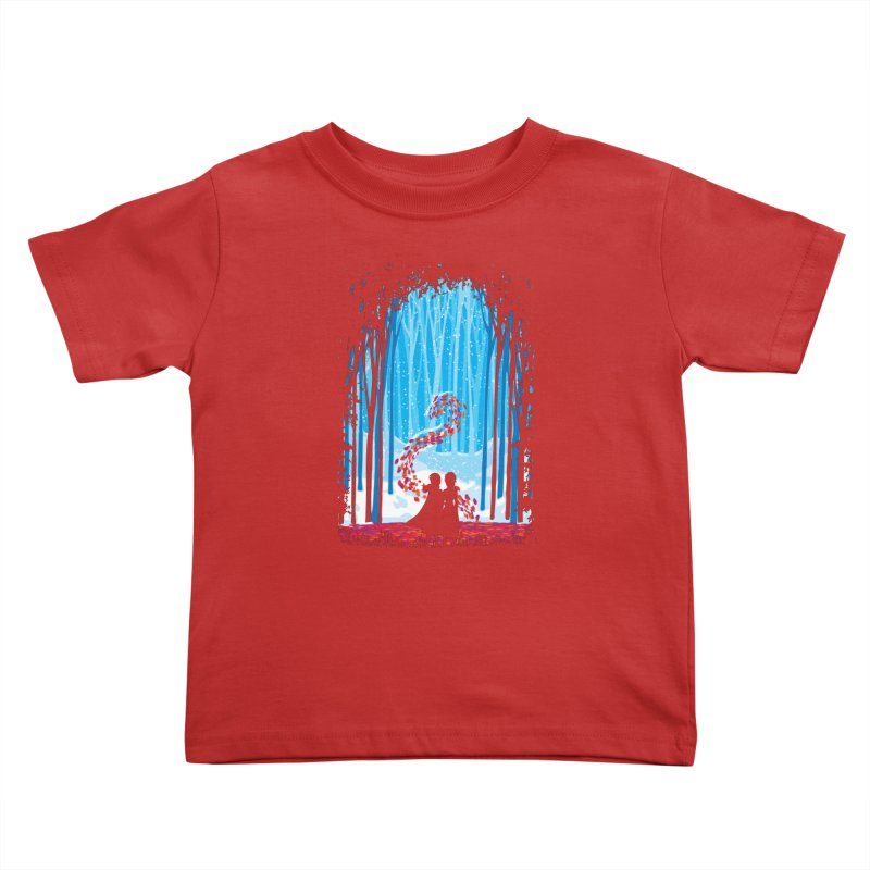 Forest Of Shadows Kids Toddler T-Shirt by Daletheskater