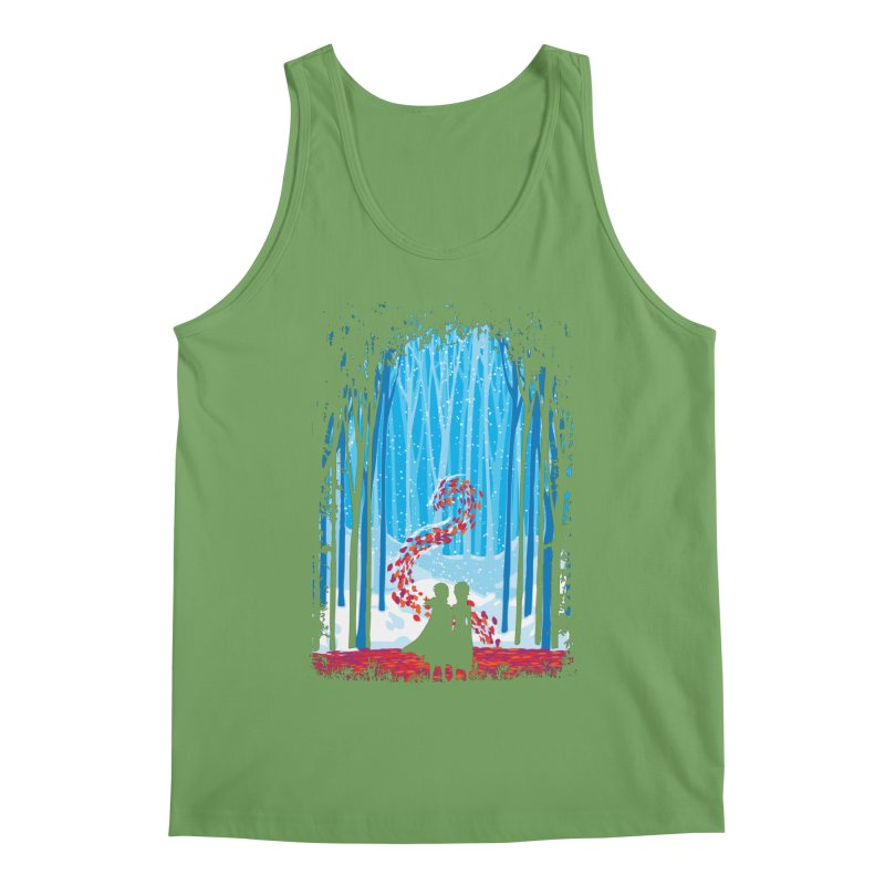 Forest Of Shadows Men's Tank by Daletheskater