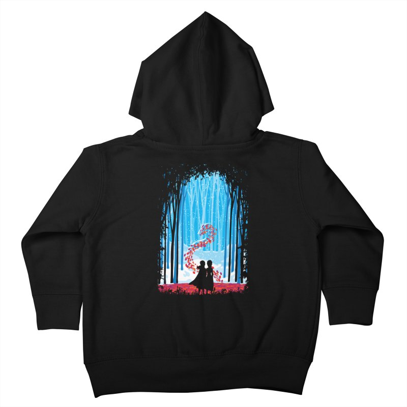 Forest Of Shadows Kids Toddler Zip-Up Hoody by Daletheskater
