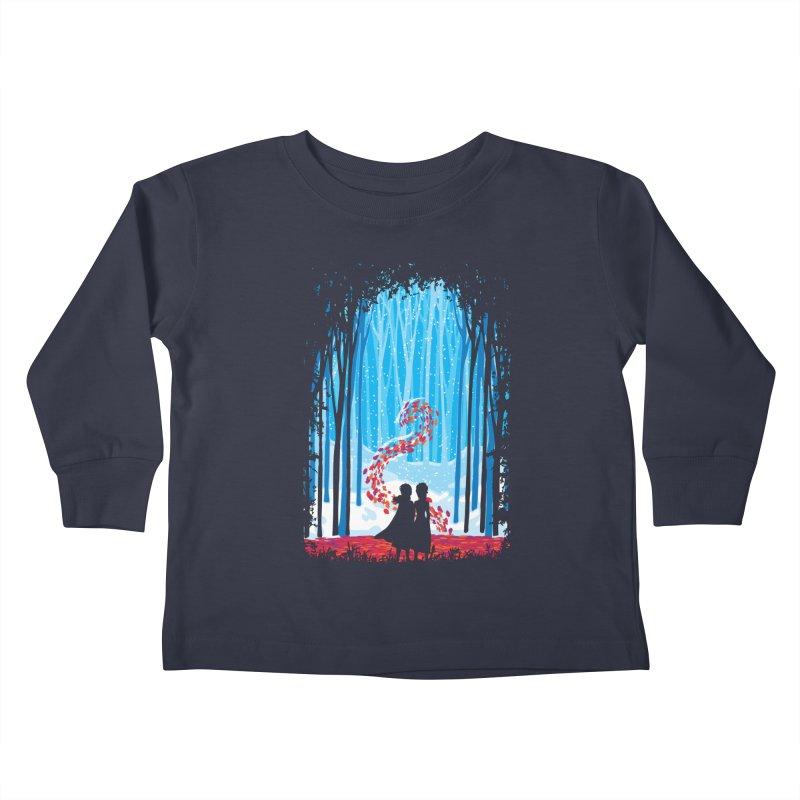 Forest Of Shadows Kids Toddler Longsleeve T-Shirt by Daletheskater