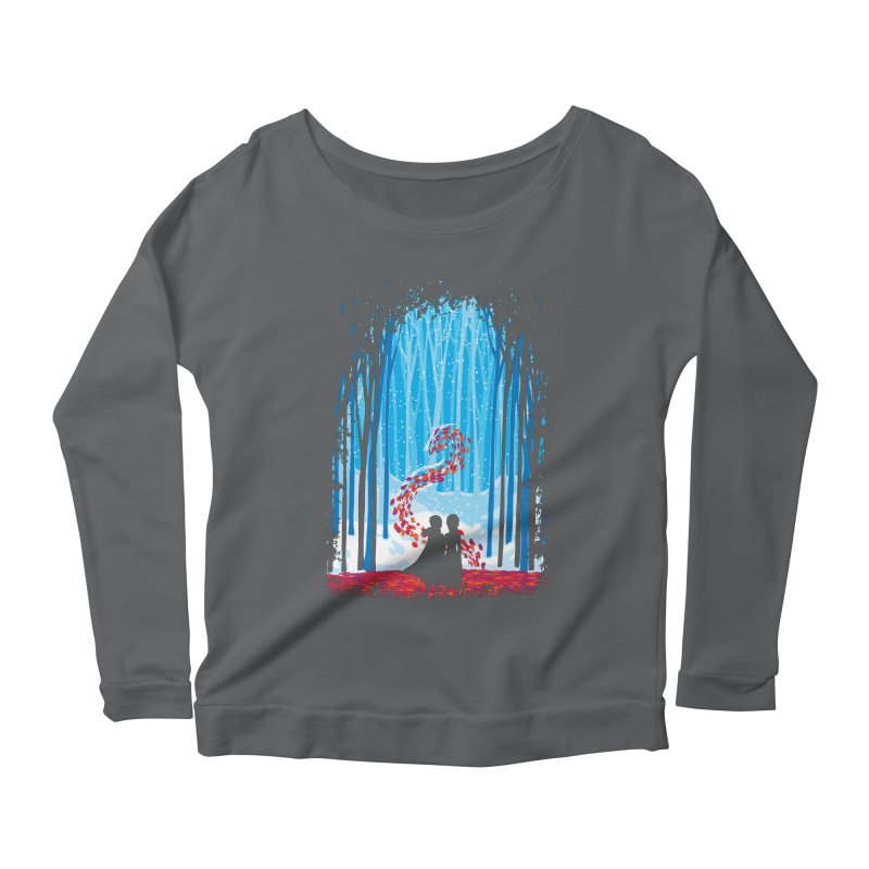 Forest Of Shadows Women's Longsleeve T-Shirt by Daletheskater