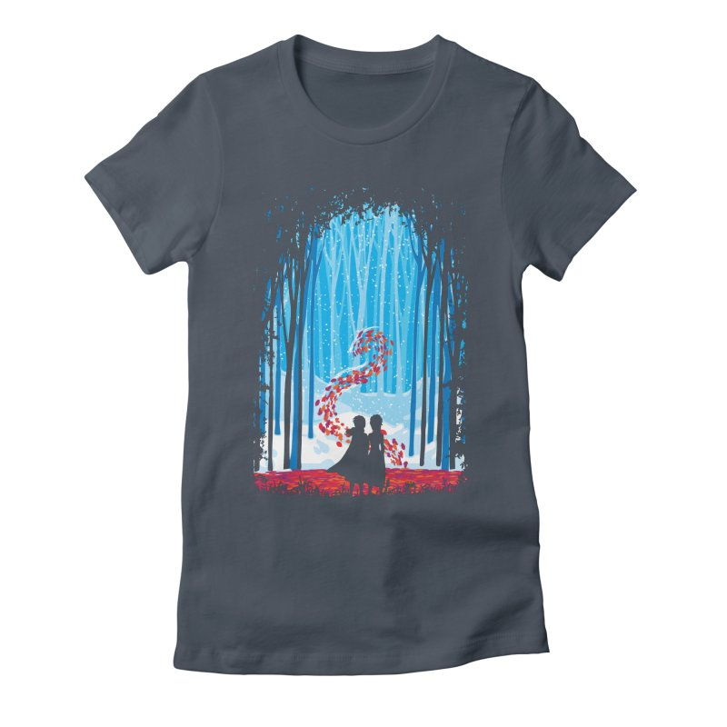 Forest Of Shadows Women's T-Shirt by Daletheskater
