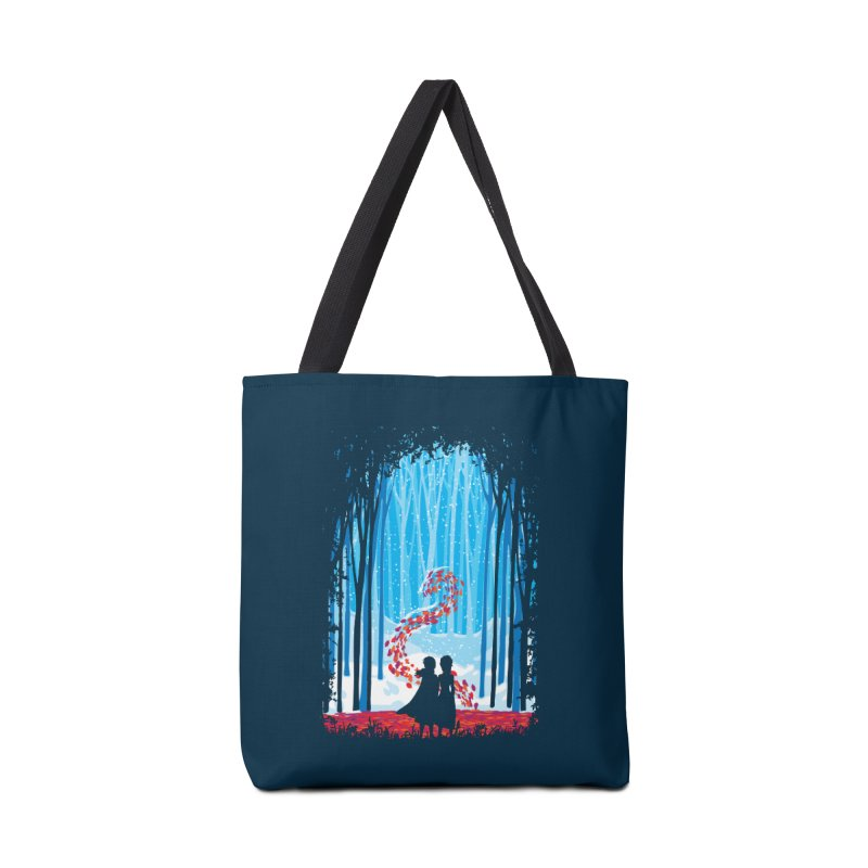 Forest Of Shadows Accessories Bag by Daletheskater