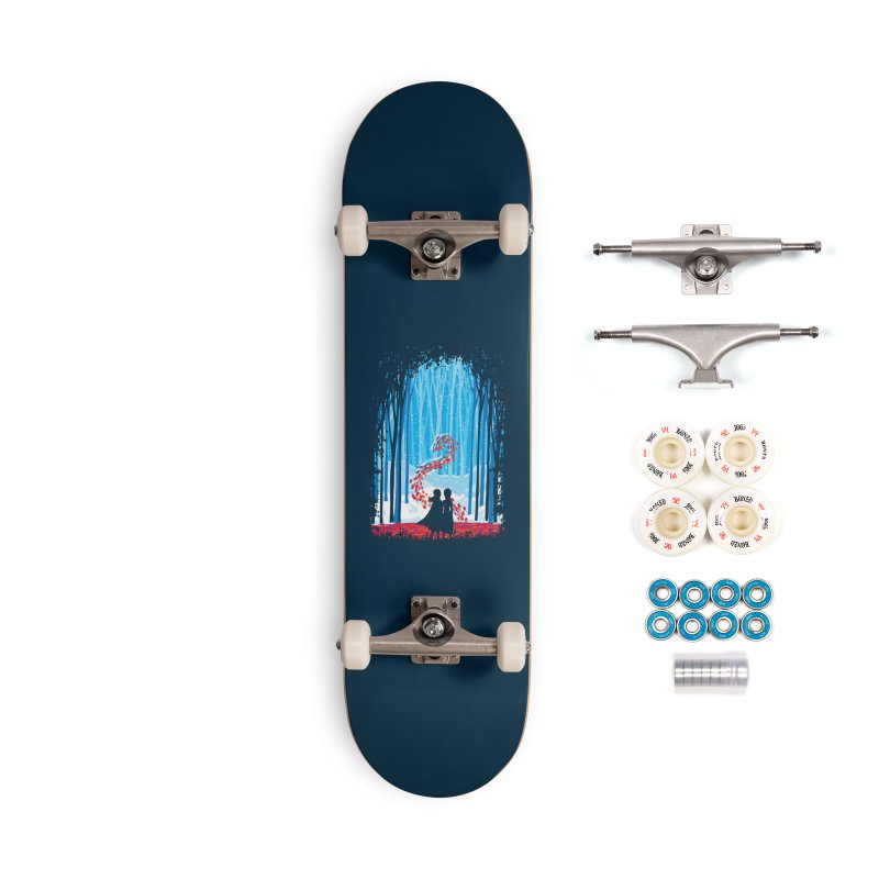 Forest Of Shadows Accessories Complete - Premium Skateboard by Daletheskater