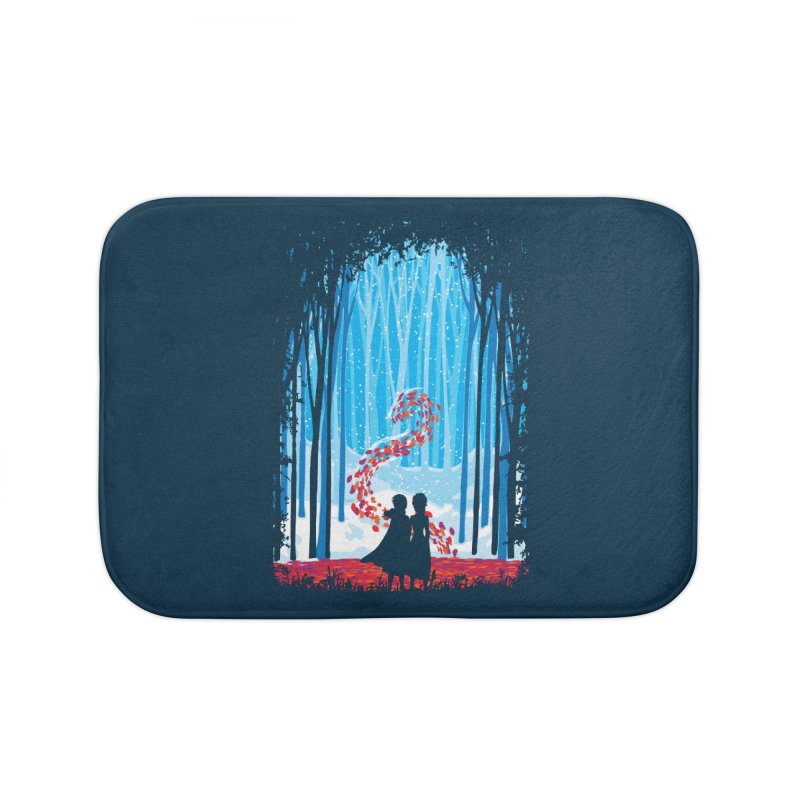 Forest Of Shadows Home Bath Mat by Daletheskater
