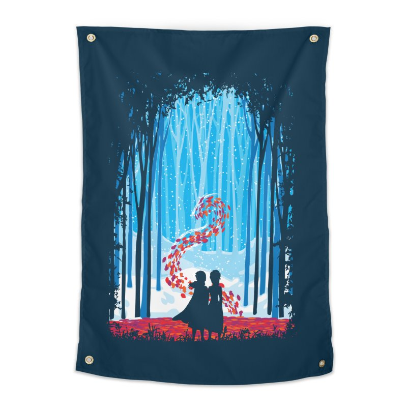 Forest Of Shadows Home Tapestry by Daletheskater