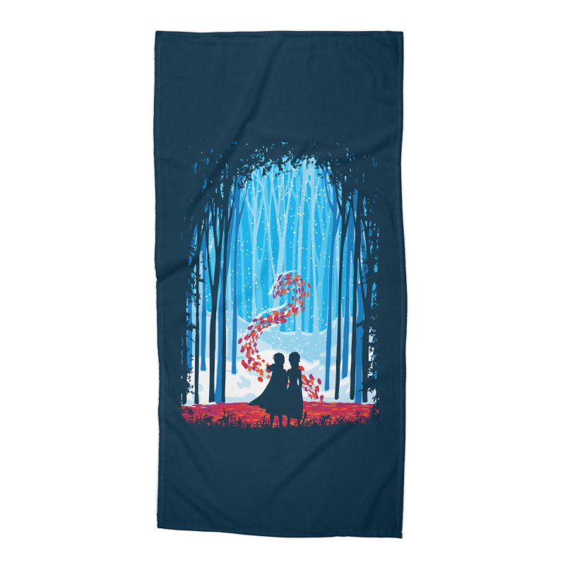 Forest Of Shadows Accessories Beach Towel by Daletheskater
