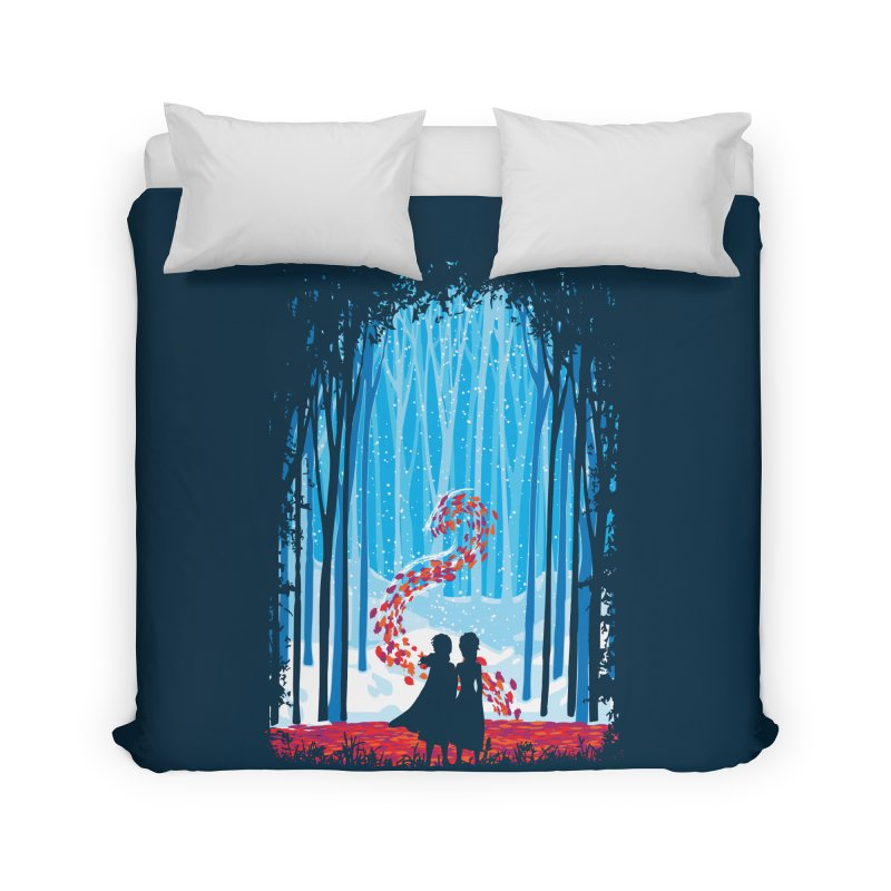 Forest Of Shadows Home Duvet by Daletheskater