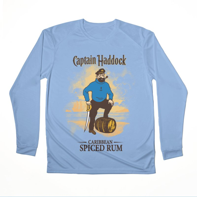 Captain Haddock Men's Longsleeve T-Shirt by Daletheskater