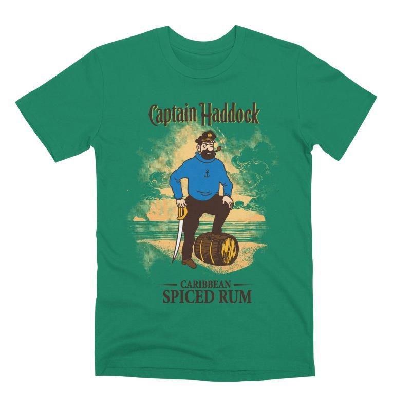 Captain Haddock Men's Premium T-Shirt by Daletheskater