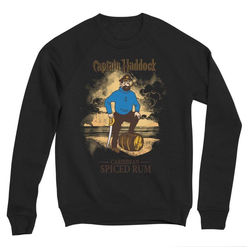 Captain Haddock Women's Sponge Fleece Sweatshirt by Daletheskater