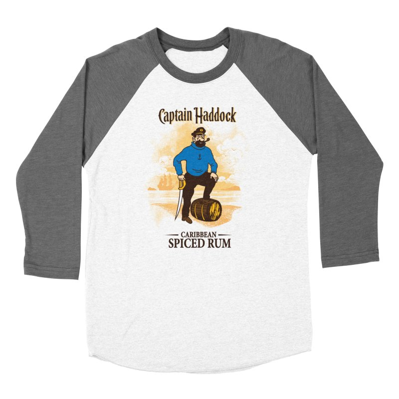 Captain Haddock Women's Longsleeve T-Shirt by Daletheskater
