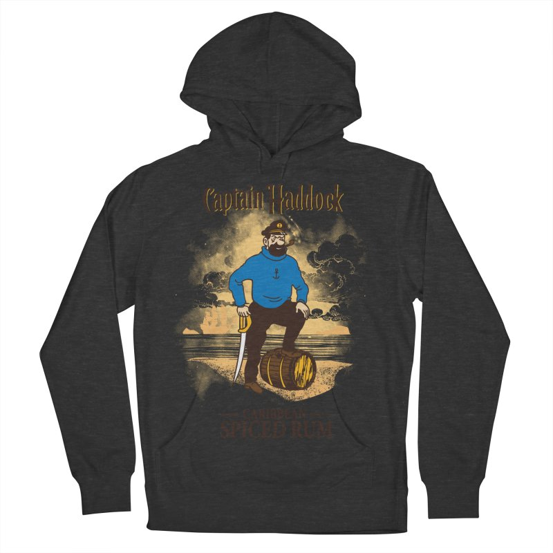 Captain Haddock Women's French Terry Pullover Hoody by Daletheskater
