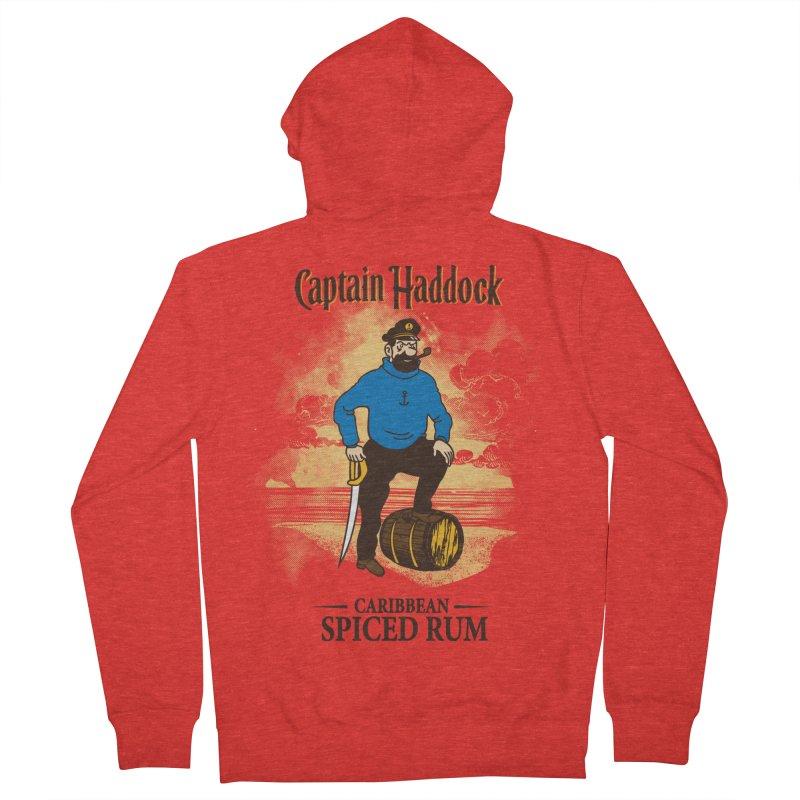 Captain Haddock Women's Zip-Up Hoody by Daletheskater