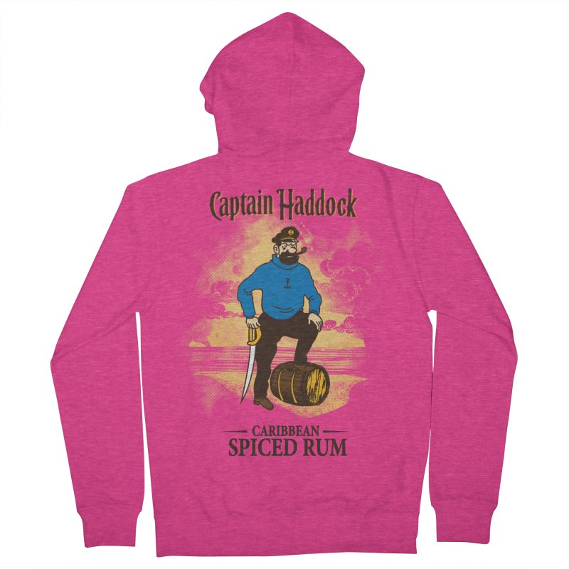 Captain Haddock Women's Zip-Up Hoody by Daletheskater