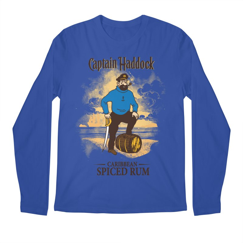 Captain Haddock Men's Regular Longsleeve T-Shirt by Daletheskater