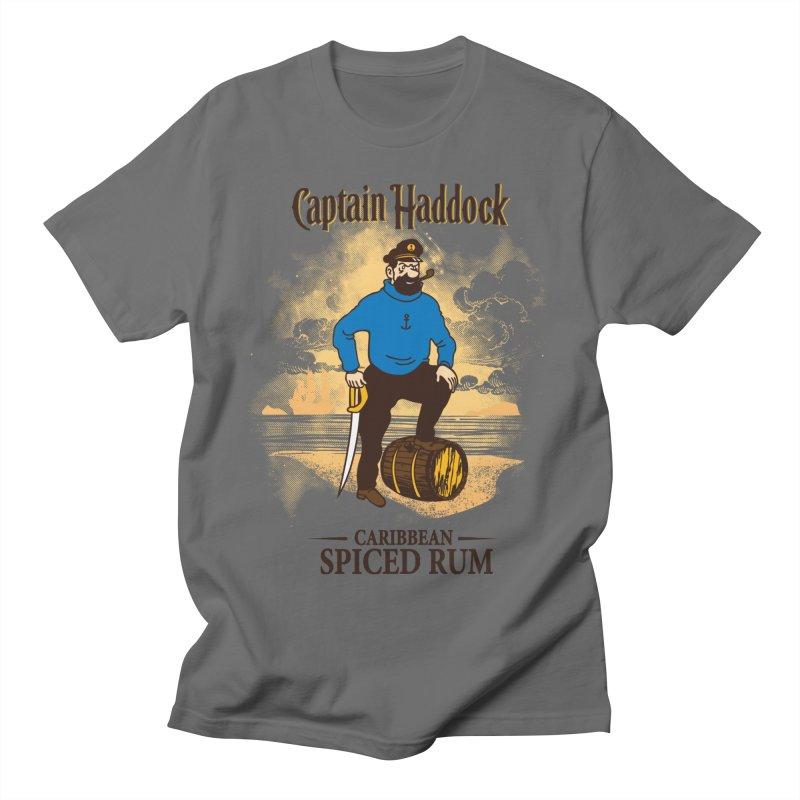 Captain Haddock Men's T-Shirt by Daletheskater