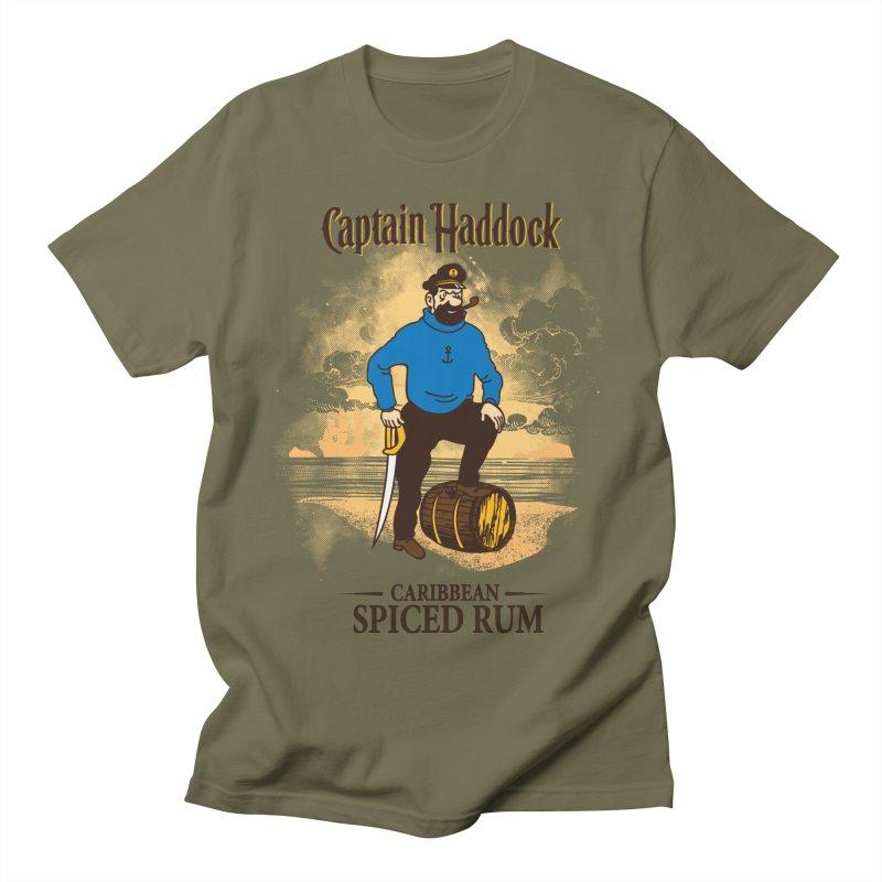 Captain Haddock Women's Regular Unisex T-Shirt by Daletheskater