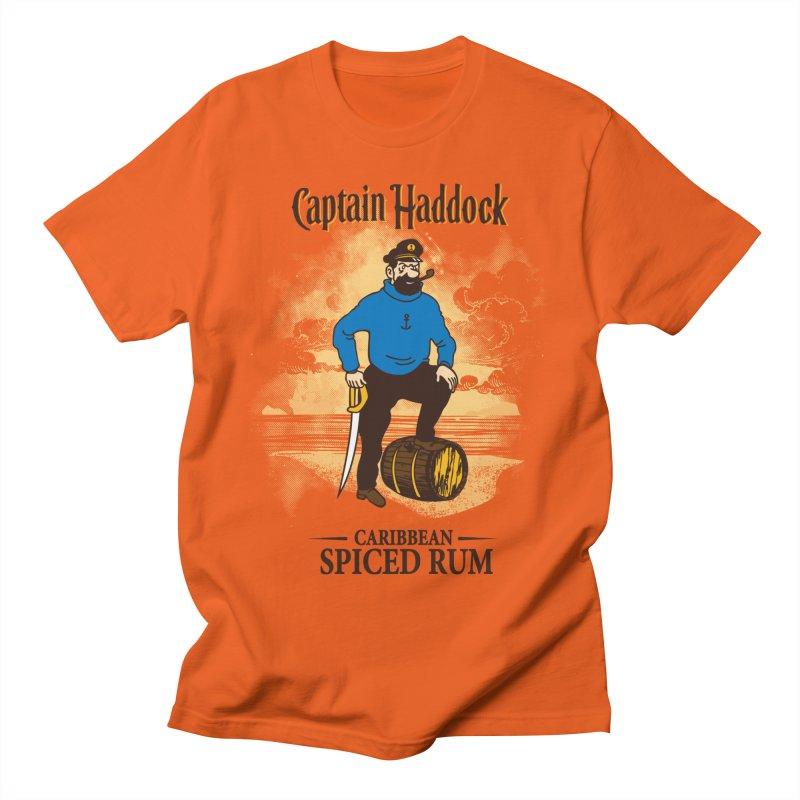 Captain Haddock Men's Regular T-Shirt by Daletheskater