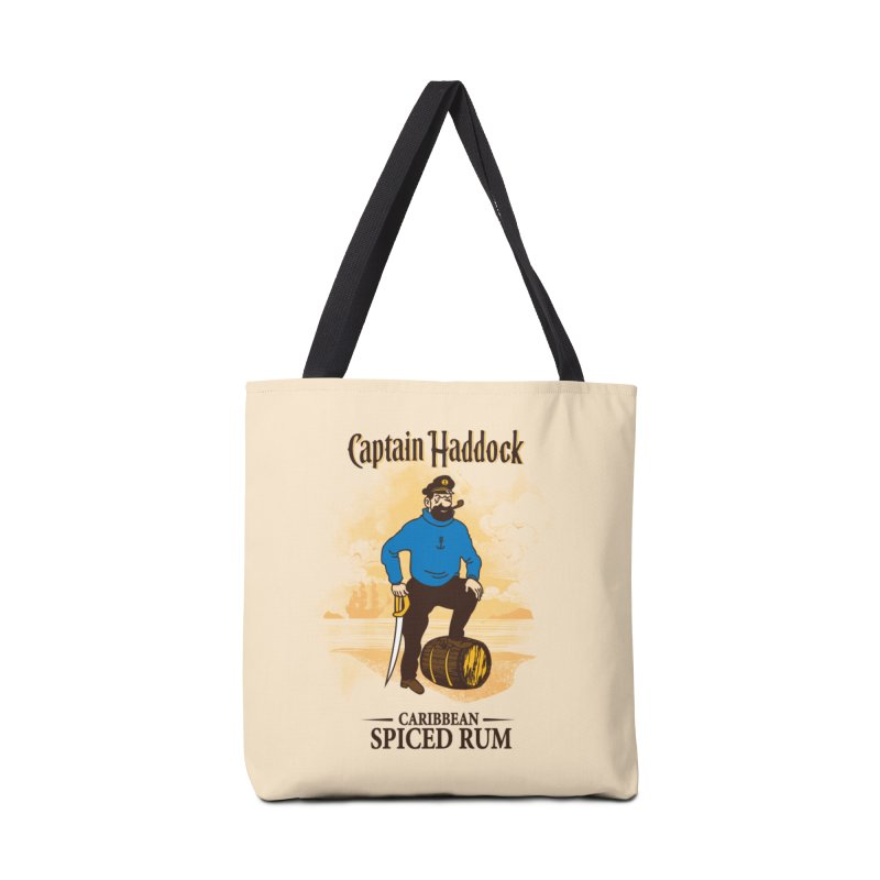 Captain Haddock Accessories Tote Bag Bag by Daletheskater