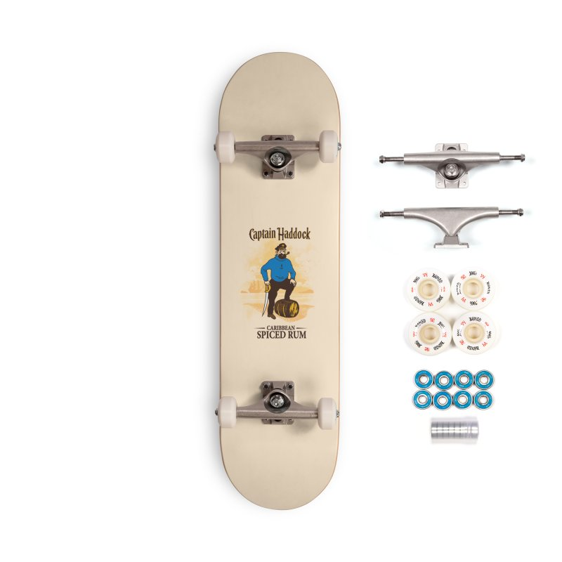 Captain Haddock Accessories Complete - Premium Skateboard by Daletheskater