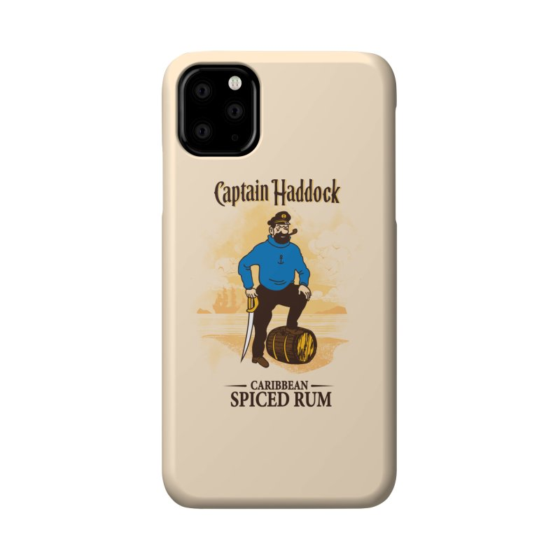 Captain Haddock Accessories Phone Case by Daletheskater