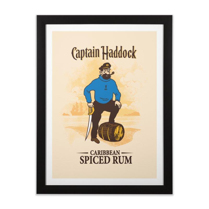 Captain Haddock Home Framed Fine Art Print by Daletheskater