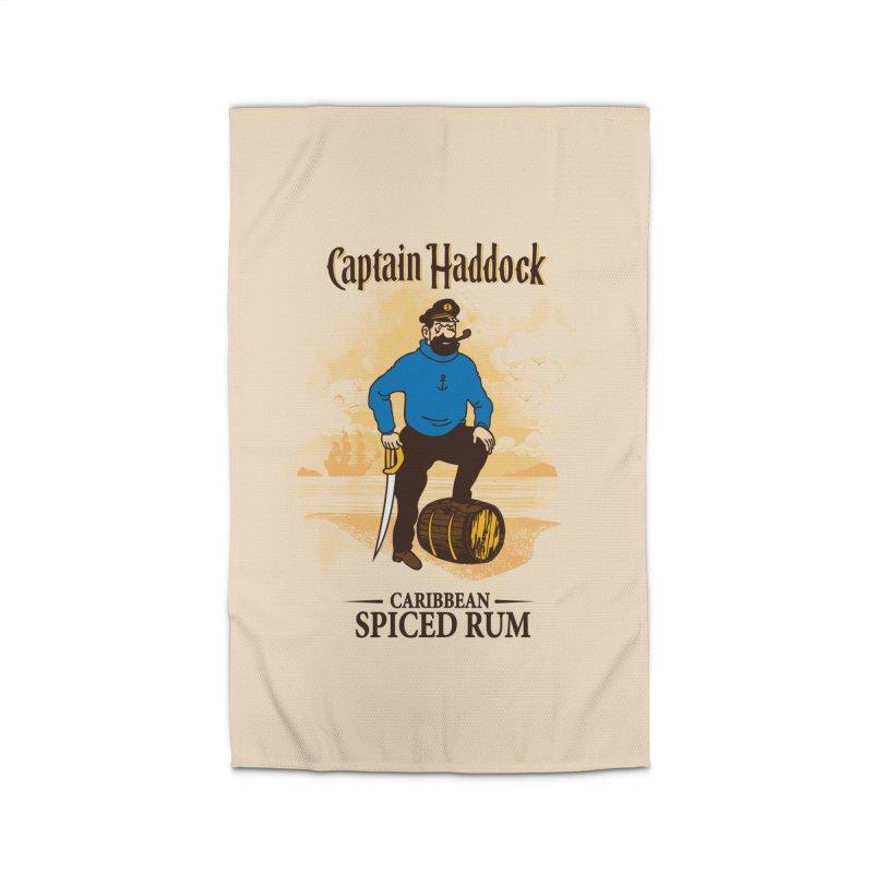 Captain Haddock Home Rug by Daletheskater