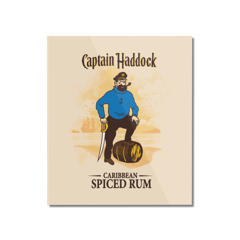Captain Haddock Home Mounted Acrylic Print by Daletheskater