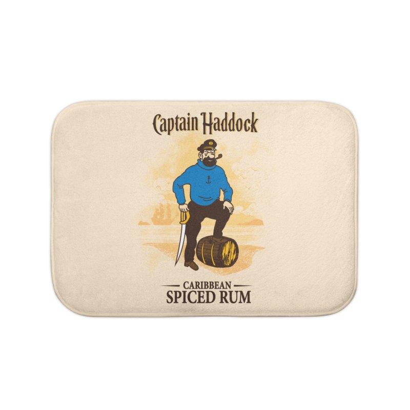Captain Haddock Home Bath Mat by Daletheskater