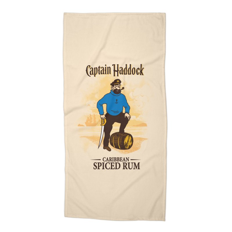 Captain Haddock Accessories Beach Towel by Daletheskater