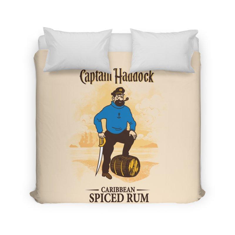 Captain Haddock Home Duvet by Daletheskater