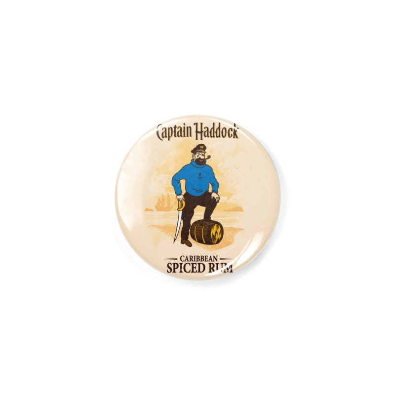 Captain Haddock Accessories Button by Daletheskater