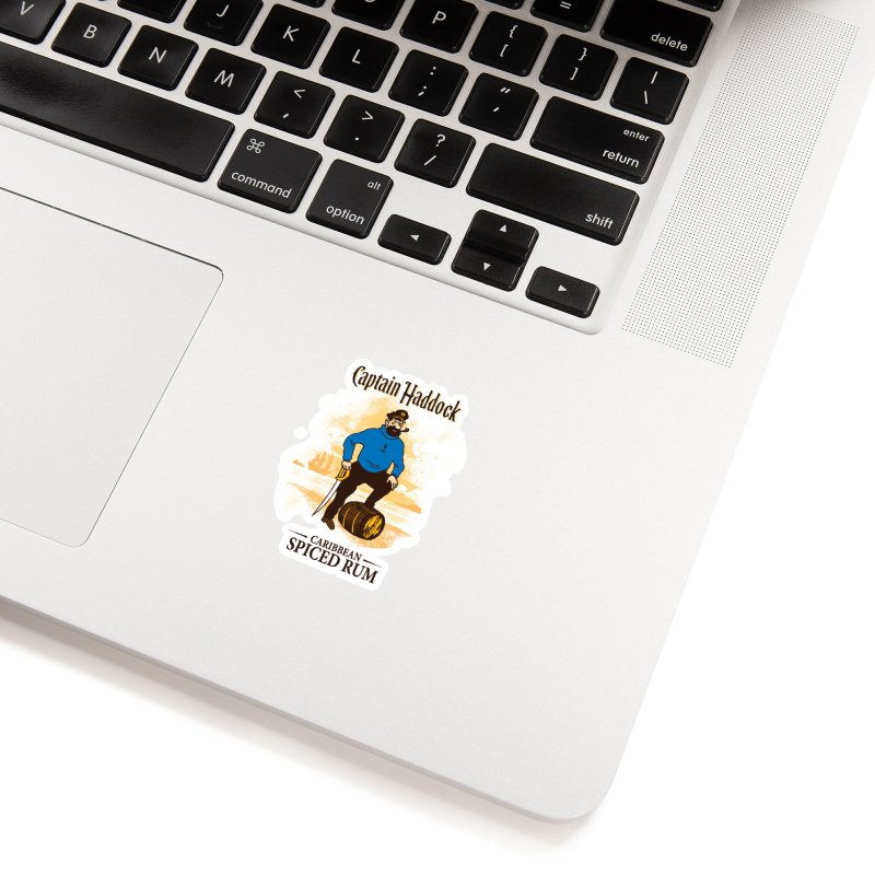 Captain Haddock Accessories Sticker by Daletheskater