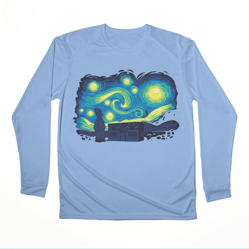Starry Blur Men's Longsleeve T-Shirt by Daletheskater